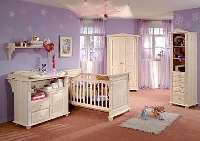 Cómo decorar el dormitorio del bebé